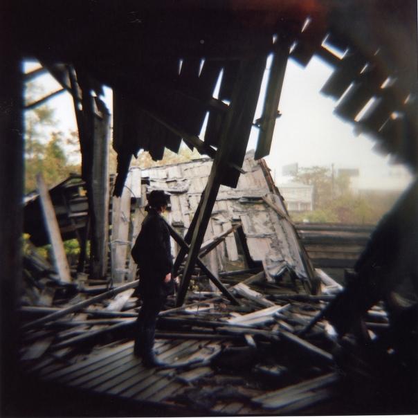 Staten Island Ship GraveyardDiana, Kodak Portra 400