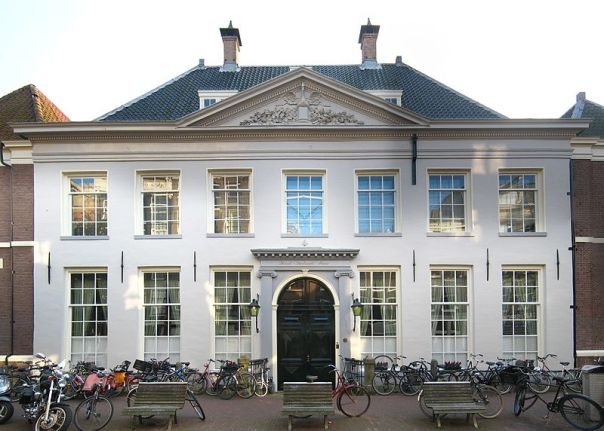 Former headquarters of the Dutch West India Company, in Amsterdam.  It was from this building that the colony of New Amsterdam was chartered.